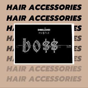 BOSS Hair Pin